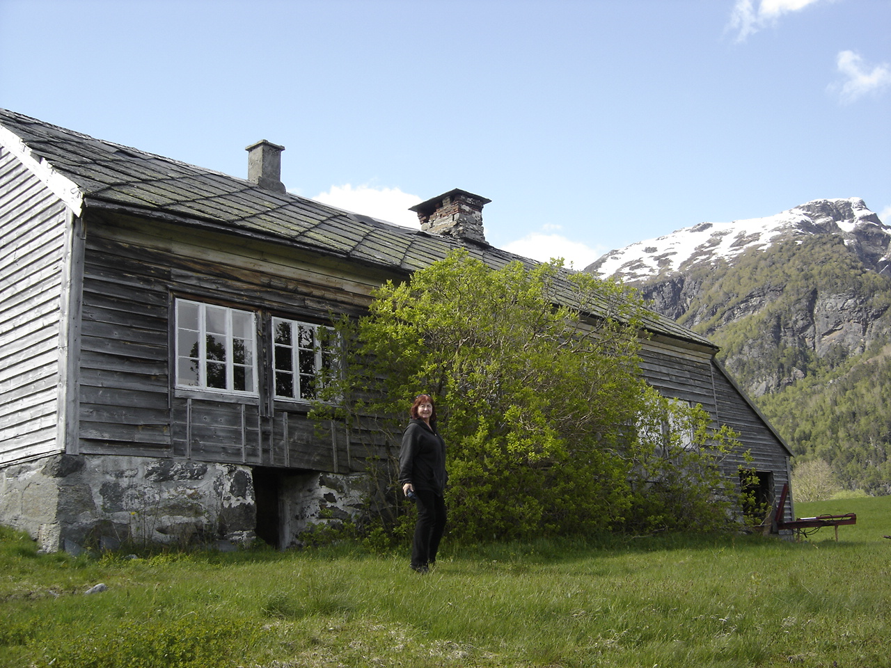 The old farmhouse. © Anne Gullbjørg Digranes