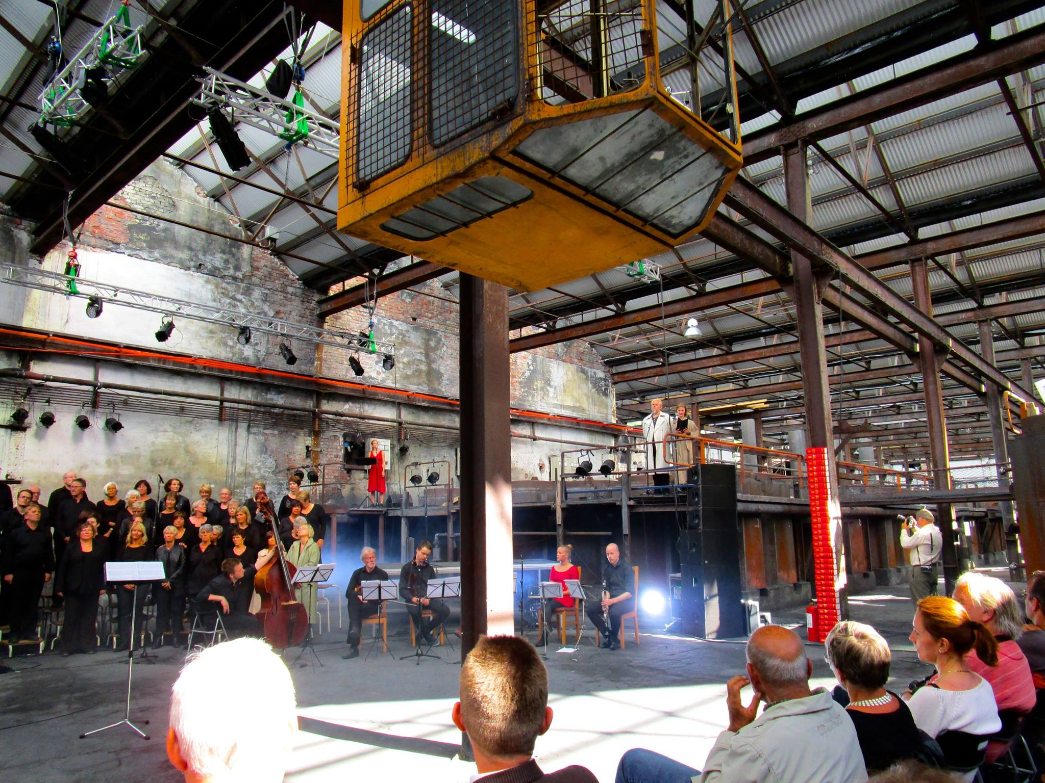 Hardanger Music Festival in the Cyanamide Factory. © Morten Eikeland