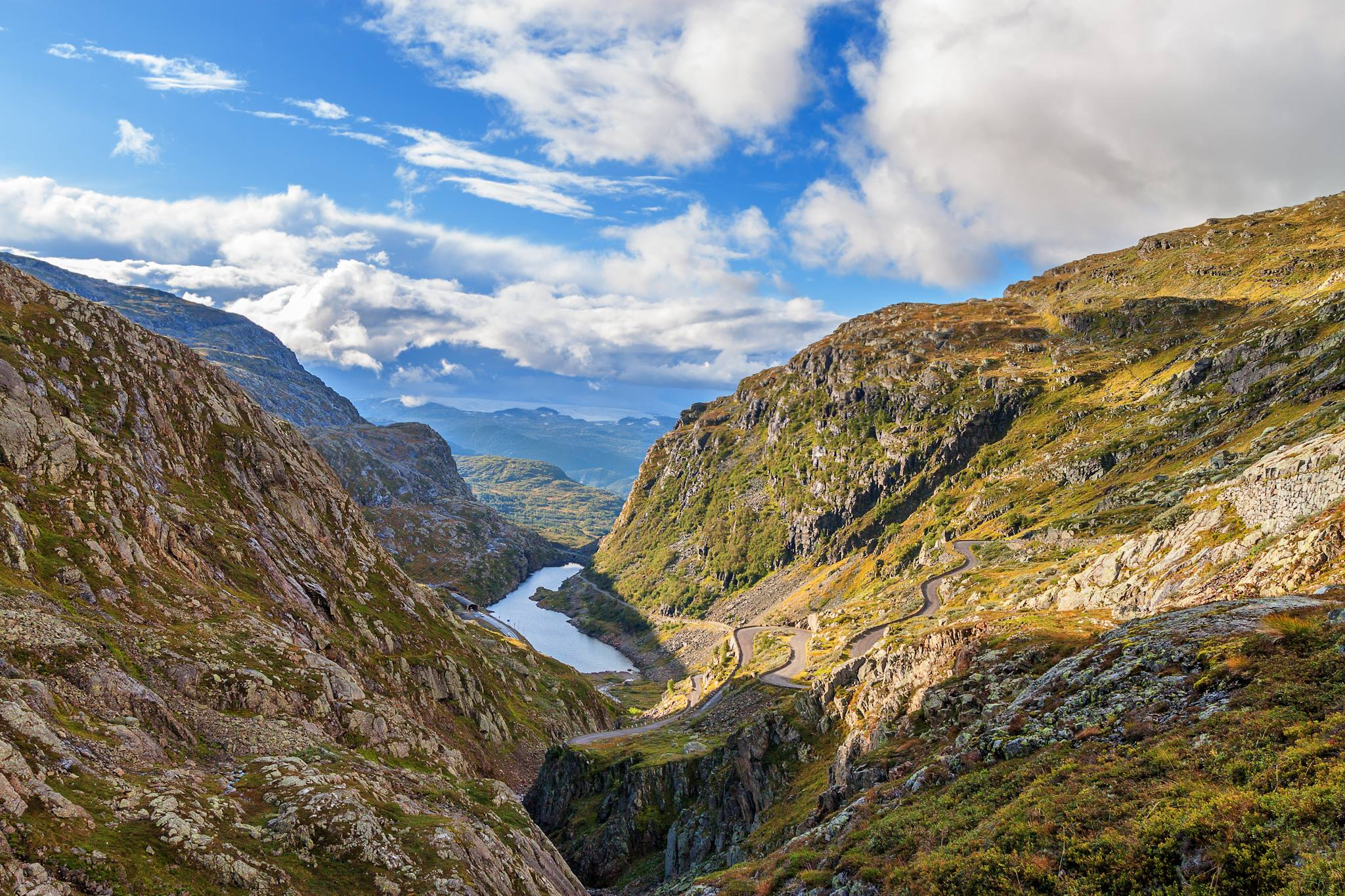 The Seljestad canyon.  © Terje Lægreid